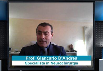 Prof. Giancarlo D'Andrea (Tumori cerebrali nelle aree eloquenti)