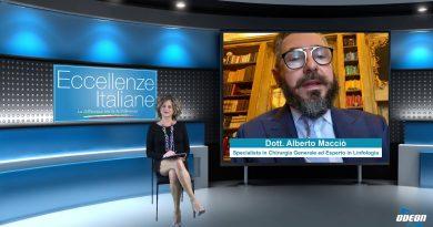 Dott. Alberto Macciò (Malattie linfologiche)