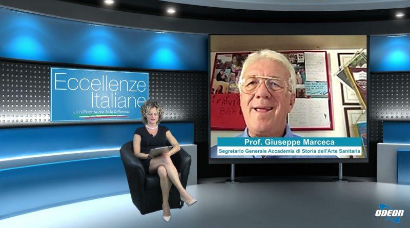Prof. Giuseppe Marceca (Accademia di Storia dell'arte Sanitaria)